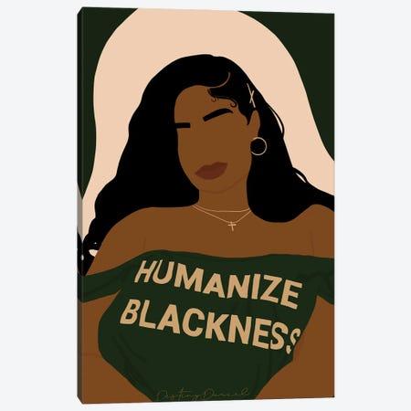 Humanize Blackness Canvas Print #DTD44} by Destiny Darcel Canvas Artwork