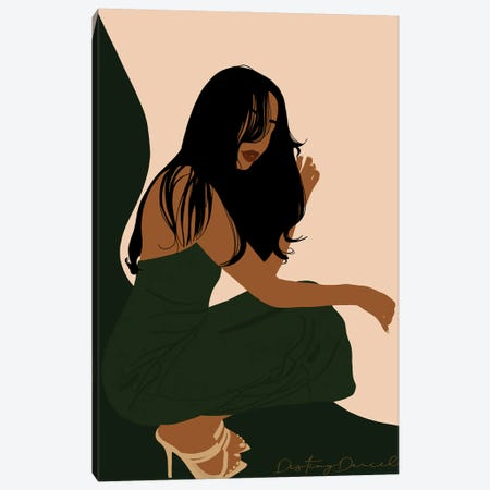 Luxurchi Canvas Print #DTD45} by Destiny Darcel Canvas Art