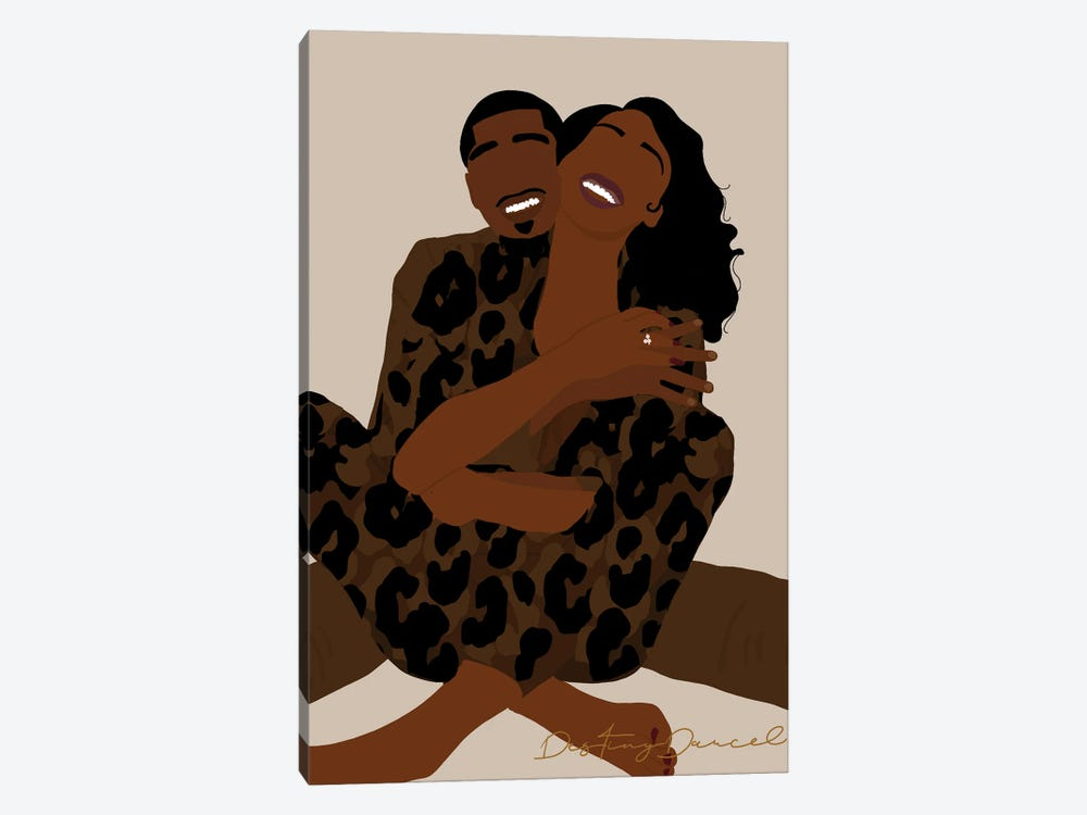 Loving You Is Easy by Destiny Darcel 1-piece Canvas Art Print
