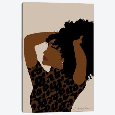 Monday Feels Canvas Print #DTD48} by Destiny Darcel Canvas Art Print