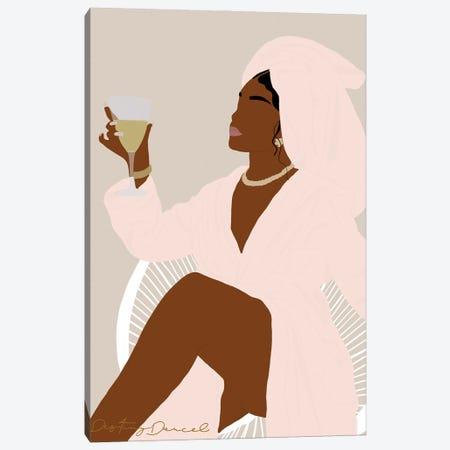 Self Care, Honey Canvas Print #DTD50} by Destiny Darcel Canvas Wall Art