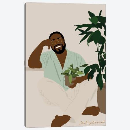 Plant Daddy I Canvas Print #DTD52} by Destiny Darcel Canvas Art