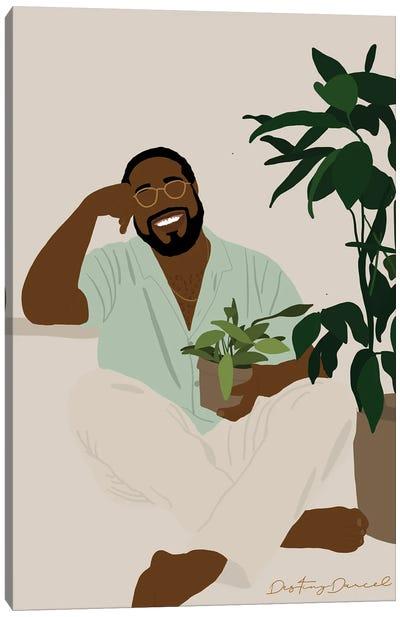 Plant Daddy I Canvas Art Print