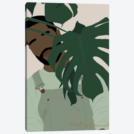 Plant Daddy II Canvas Print #DTD53} by Destiny Darcel Canvas Art
