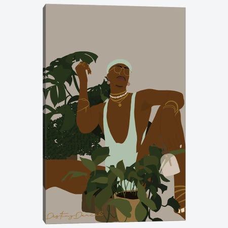 Plant Daddy III Canvas Print #DTD54} by Destiny Darcel Canvas Art Print