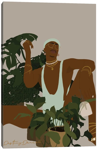 Plant Daddy III Canvas Art Print