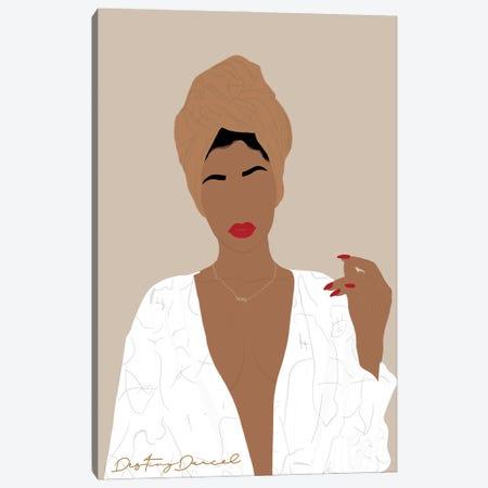 One Woman Show Canvas Print #DTD56} by Destiny Darcel Art Print