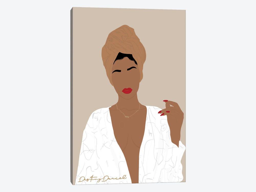 One Woman Show by Destiny Darcel 1-piece Art Print