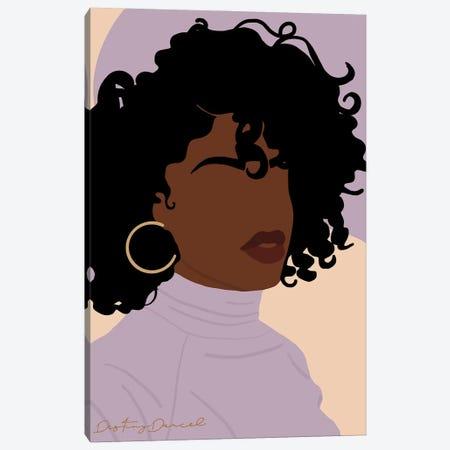 Perfect Hair Day Canvas Print #DTD57} by Destiny Darcel Canvas Art Print