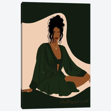 Silk Robe Canvas Print #DTD59} by Destiny Darcel Canvas Art
