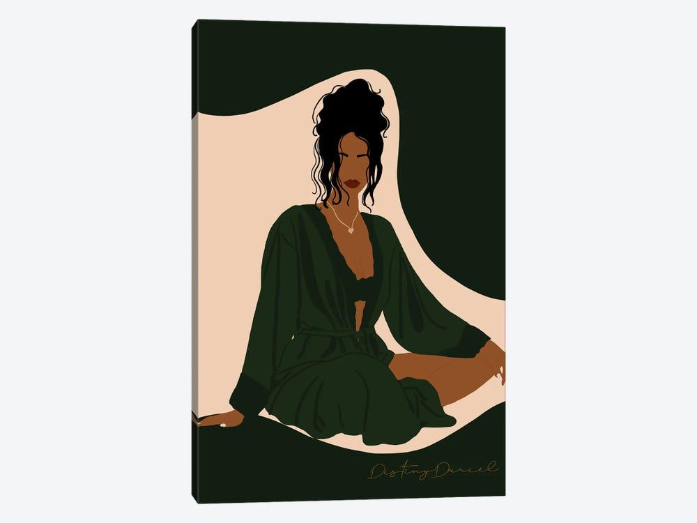 Silk Robe by Destiny Darcel 1-piece Canvas Artwork