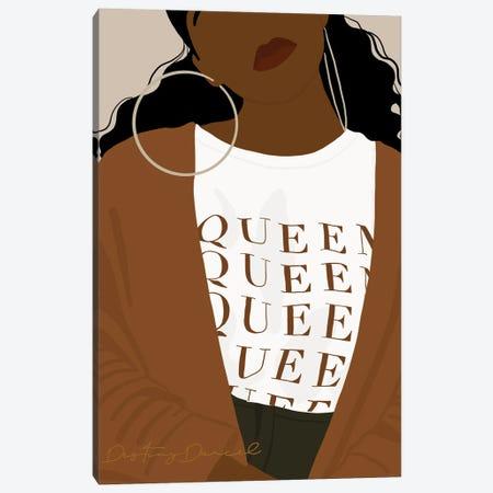 Queen Canvas Print #DTD63} by Destiny Darcel Canvas Art Print