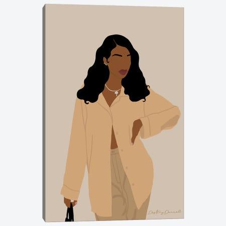 Thankful Canvas Print #DTD64} by Destiny Darcel Canvas Artwork