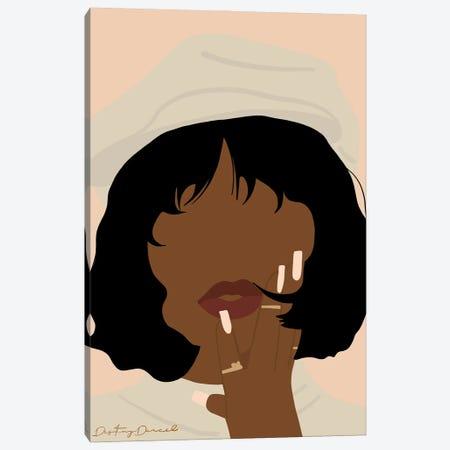 Madame Canvas Print #DTD6} by Destiny Darcel Canvas Print