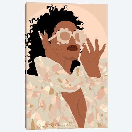 Indya Canvas Print #DTD7} by Destiny Darcel Canvas Print