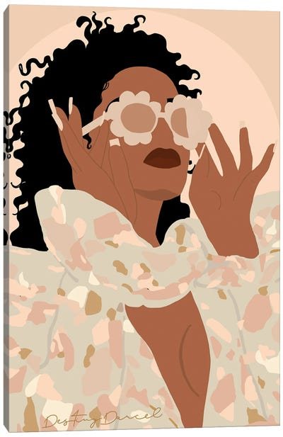 Indya Canvas Art Print