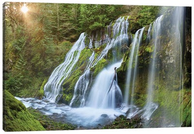 Fairytale Falls Canvas Art Print