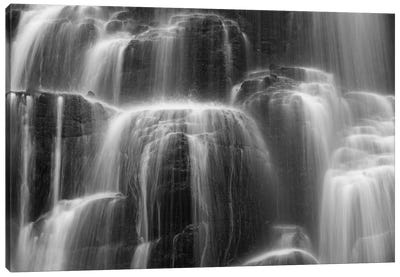 Glimmer Falls Canvas Art Print