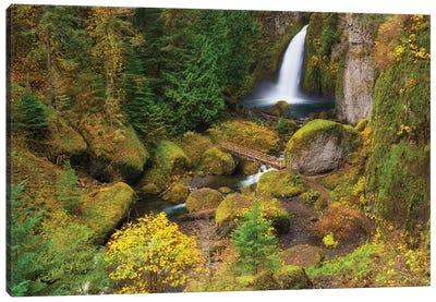 Autumns Painter Canvas Art Print
