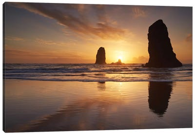 Beach Giants Canvas Art Print
