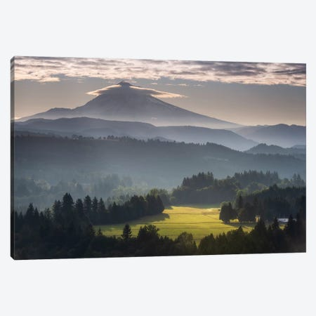 Mountain Radiance Canvas Print #DTH41} by Dautlich Canvas Art Print
