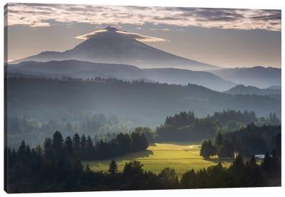 Mountain Radiance Canvas Art Print