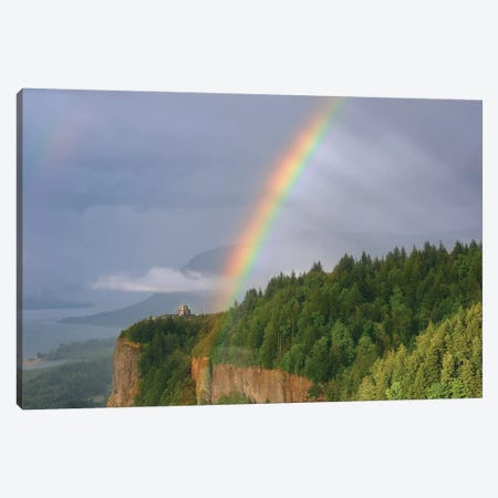 Rainbow Mystery 3-Piece Canvas #DTH44} by Dautlich Canvas Artwork
