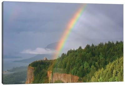 Rainbow Mystery Canvas Art Print