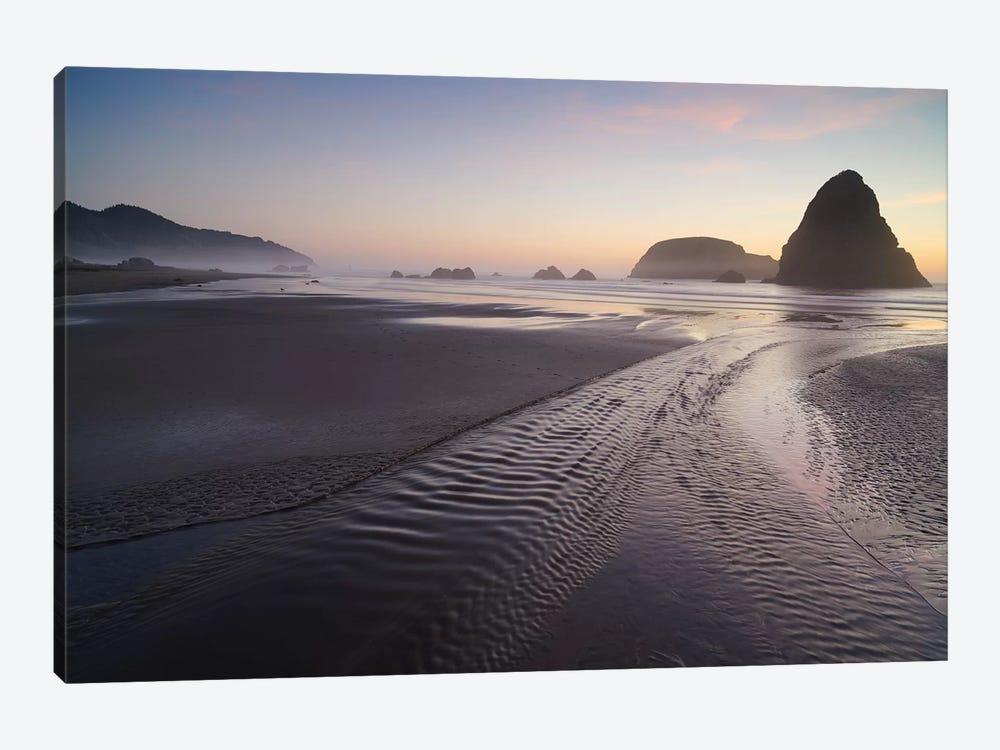 Silent Afterglow by Dautlich 1-piece Canvas Artwork