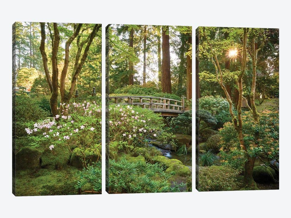 Zen Garden by Dautlich 3-piece Canvas Wall Art