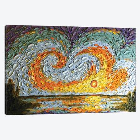 Hannah's Sky  Canvas Print #DTO10} by Dena Tollefson Canvas Art Print