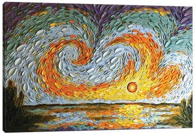 Hannah's Sky  Canvas Art Print