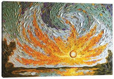 Jacob's Sky  Canvas Art Print