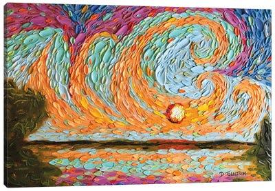 Japheth's Sky  Canvas Art Print