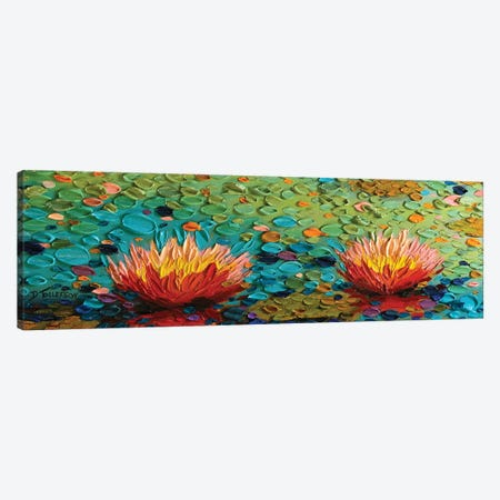 Lily Rapture 3 Canvas Print #DTO16} by Dena Tollefson Canvas Artwork