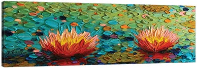 Lily Rapture 3 Canvas Art Print
