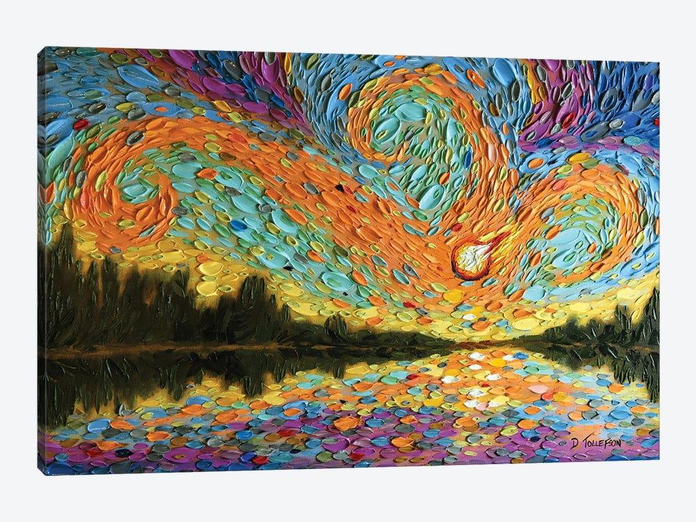 Peleg's Sky  by Dena Tollefson 1-piece Canvas Art Print