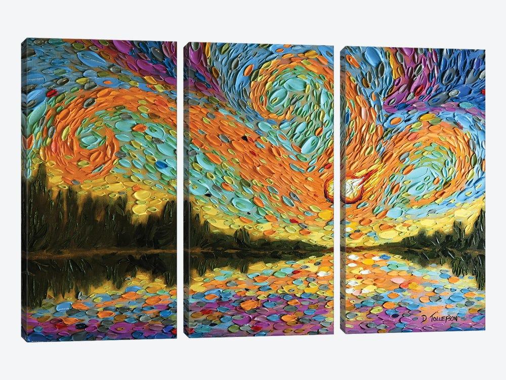 Peleg's Sky  by Dena Tollefson 3-piece Art Print