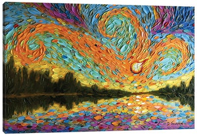 Peleg's Sky  Canvas Art Print