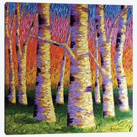 Rainbow Connection  Canvas Print #DTO29} by Dena Tollefson Canvas Wall Art