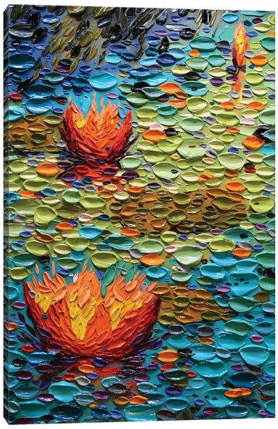 Rainbow Pond  Canvas Art Print