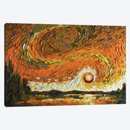 Rebekah's Sky I Canvas Print #DTO31} by Dena Tollefson Canvas Art Print