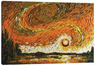 Rebekah's Sky I Canvas Art Print