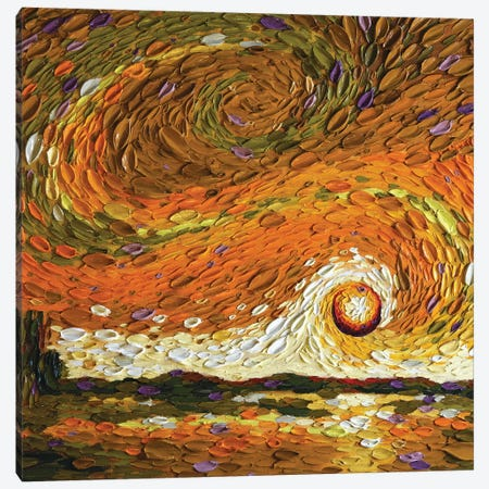 Rebekah's Sky II Canvas Print #DTO32} by Dena Tollefson Canvas Print