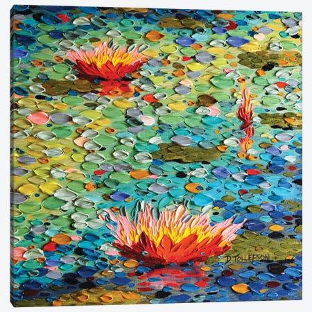 Summertime Glory  Canvas Print #DTO36} by Dena Tollefson Canvas Artwork