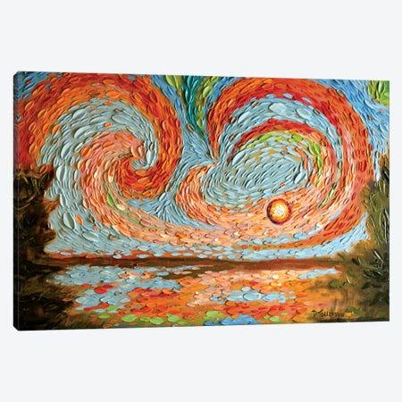 Boaz's Sky  Canvas Print #DTO3} by Dena Tollefson Art Print
