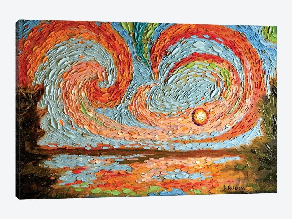 Boaz's Sky  by Dena Tollefson 1-piece Canvas Art Print