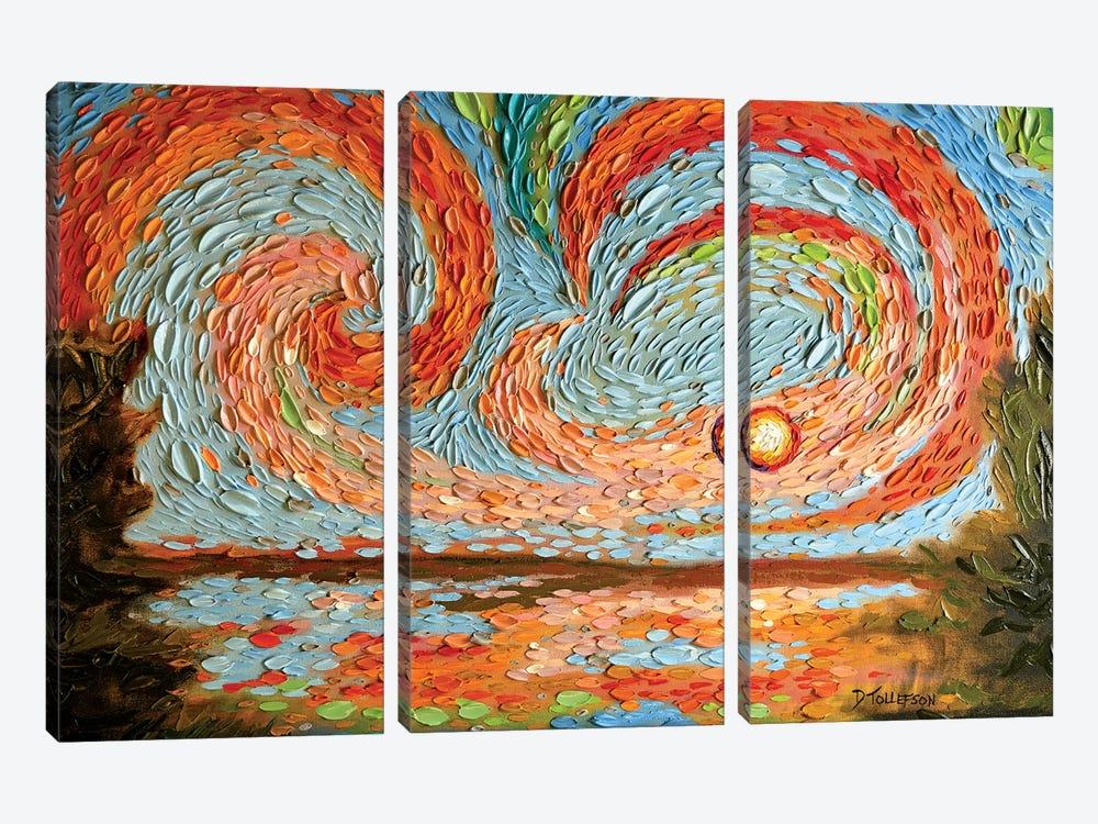 Boaz's Sky  by Dena Tollefson 3-piece Art Print