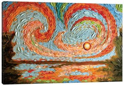 Boaz's Sky  Canvas Art Print
