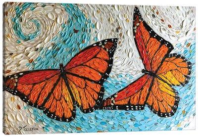 The Joyful Flight  Canvas Art Print